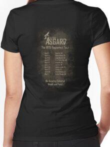 Old Gods of Asgard: Ragnarock Tour Poster Women's Fitted V-Neck T-Shirt