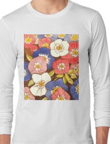 Petunias Long Sleeve T-Shirt