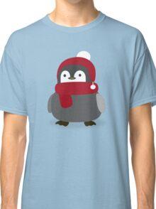 Cute Winter Penguin  Classic T-Shirt