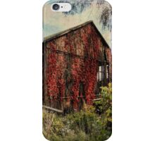 Ivy on the barn iPhone Case/Skin