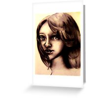 A childs Innocence Greeting Card