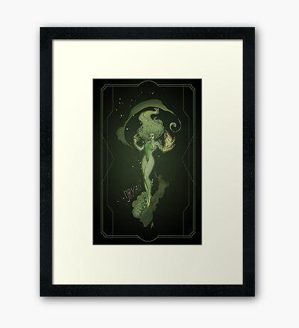Dryad - Poster Framed Print