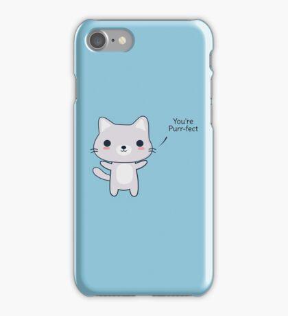 Cute and Funny Cat Pun  iPhone Case/Skin