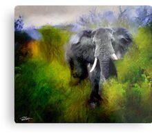Uganda: Slick Ivory Metal Print