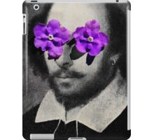 willy loves flowers iPad Case/Skin