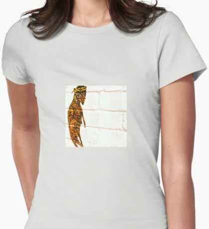 Rat pastie Womens Fitted T-Shirt