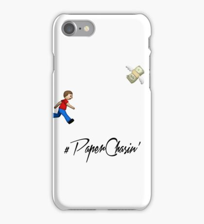 #Paper Chasin' iPhone Case/Skin