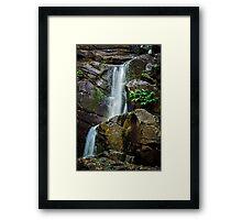 Unknown Falls.... Framed Print