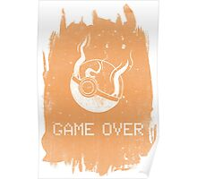 Game Over Charizard Poster