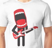 loud singing guitarist  Unisex T-Shirt