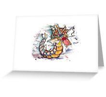 Epic Gyarados Tshirts + More Greeting Card