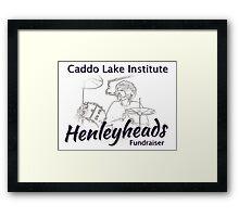 Henleyheads Caddo Lake Fundraiser Framed Print
