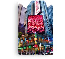 47th and 7th NW Corner Canvas Print