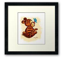 Baby Tigger Framed Print