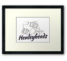 Henleyheads Framed Print