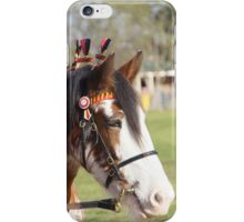 Draft horse decorated iPhone Case/Skin