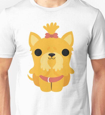 Shih Tzu Emoji Happy Smiling Face Unisex T-Shirt