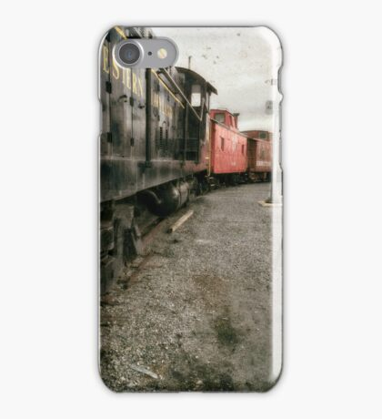 Trains by Western Maryland  iPhone Case/Skin