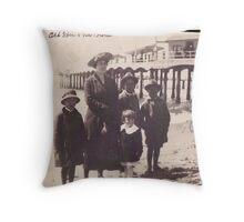 Redondo Beach, 1921 Throw Pillow