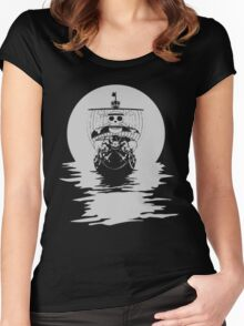 Thousand Sunny  Women's Fitted Scoop T-Shirt