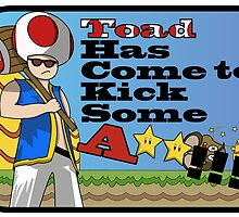 Toad the Bad A** by WondraBox