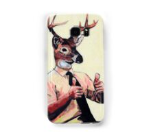 Deer Man, Thumbs Up Samsung Galaxy Case/Skin