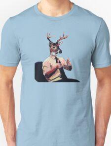 Deer Man, Thumbs Up Unisex T-Shirt
