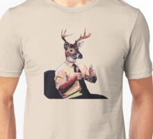 Deer Man, Thumbs Up Unisex T-Shirt