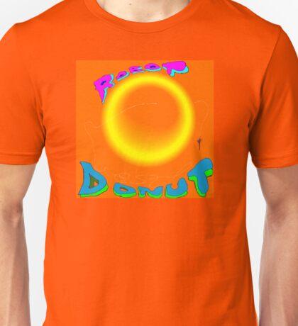 Robot Donut Digital Design - large Unisex T-Shirt