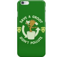 Save A Groot iPhone Case/Skin