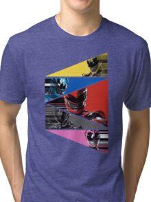 Power Rangers Movie Team (2017) Tri-blend T-Shirt
