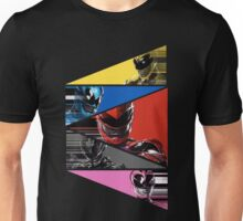 Power Rangers Movie Team (2017) Unisex T-Shirt