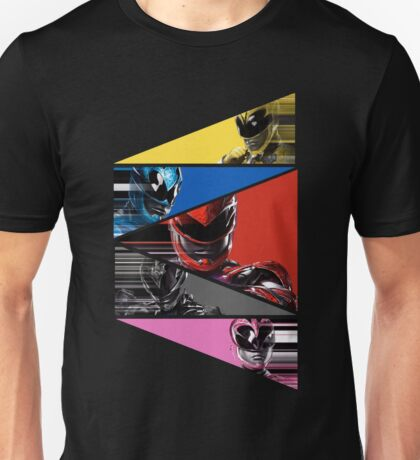 Power Rangers Movie Team (2017) Unisex T-Shirt