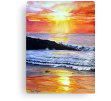 Sunset Glow Canvas Print