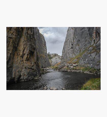 Limestone Block Natural Wall Photographic Print