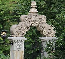 Ancient Stone Archway by Gilda Axelrod
