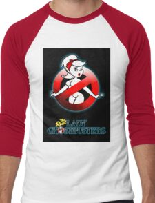 The REAL Lady Ghostbusters - Rule #63 Poster v2 Men's Baseball ¾ T-Shirt