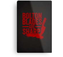 Bolton Blades Are Sharp Metal Print