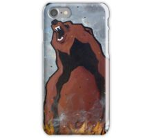 Rage; Grizzly Bear iPhone Case/Skin