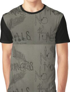 No Mourners, No Funerals! - Six of Crows inspired (Leigh Bardugo) Graphic T-Shirt