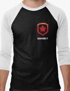 Gambit Gloss - Red Men's Baseball ¾ T-Shirt