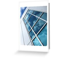 Reflections Of A Sunlit Sky Greeting Card