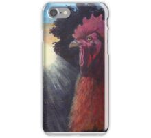 Rooster, Sunrise iPhone Case/Skin