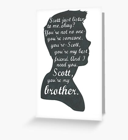 Stiles Quotes- Number One in a Series Greeting Card