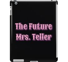 The Future Mrs. iPad Case/Skin