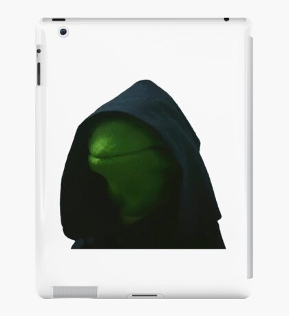 Evil Kermit Meme 2 iPad Case/Skin