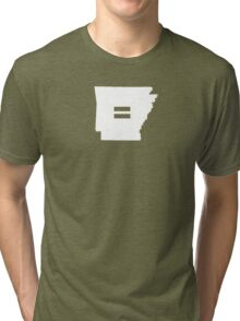 Arkansas Equality Tri-blend T-Shirt