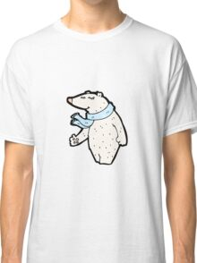 cartoon polar bear Classic T-Shirt