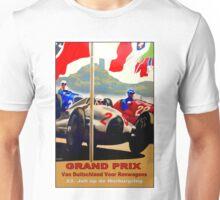 GERMAN GRAND PRIX; Auto Racing Advertising Print Unisex T-Shirt