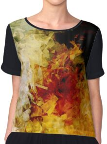 Space Cubed No.1 Chiffon Top